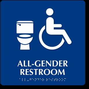 Gender Inclusive Bathroom Signage