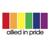 Allied in Pride logo