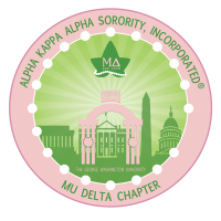 Alpha Kappa Alpha Sorority Inc., Mu Delta Chapter logo