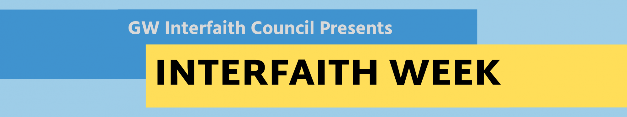 GW Interfaith Council Presents Interfaith Week