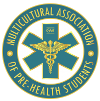 GWU Multicultural Association of Pre-Health Students logo