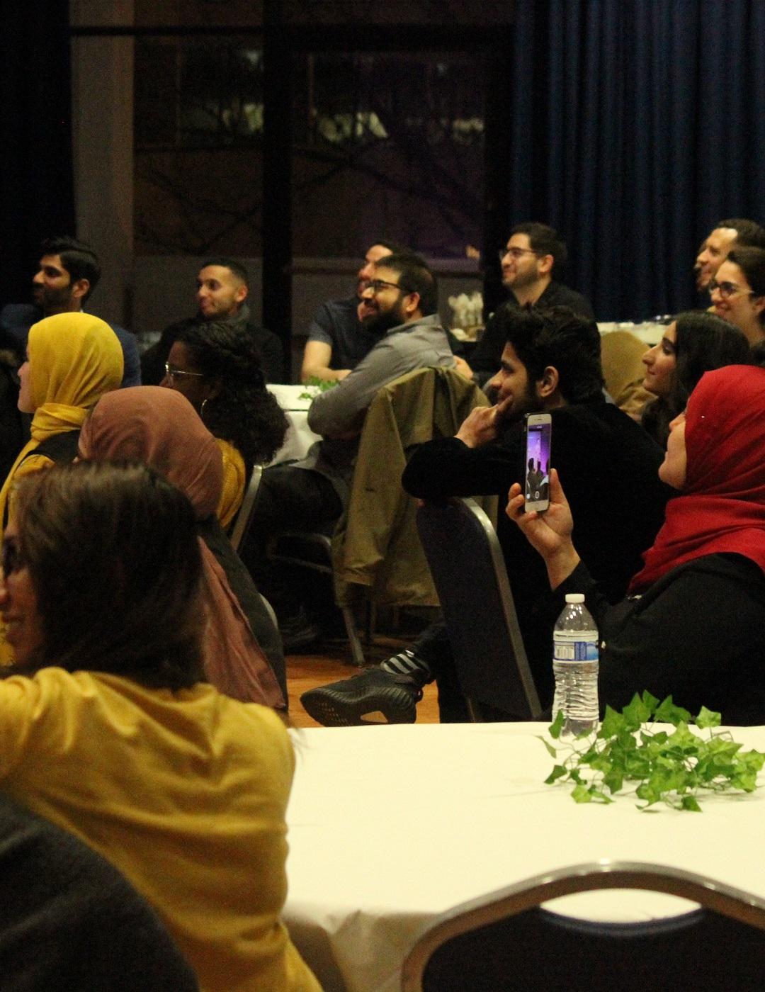 Students attending an Interfaith Week 2020 event