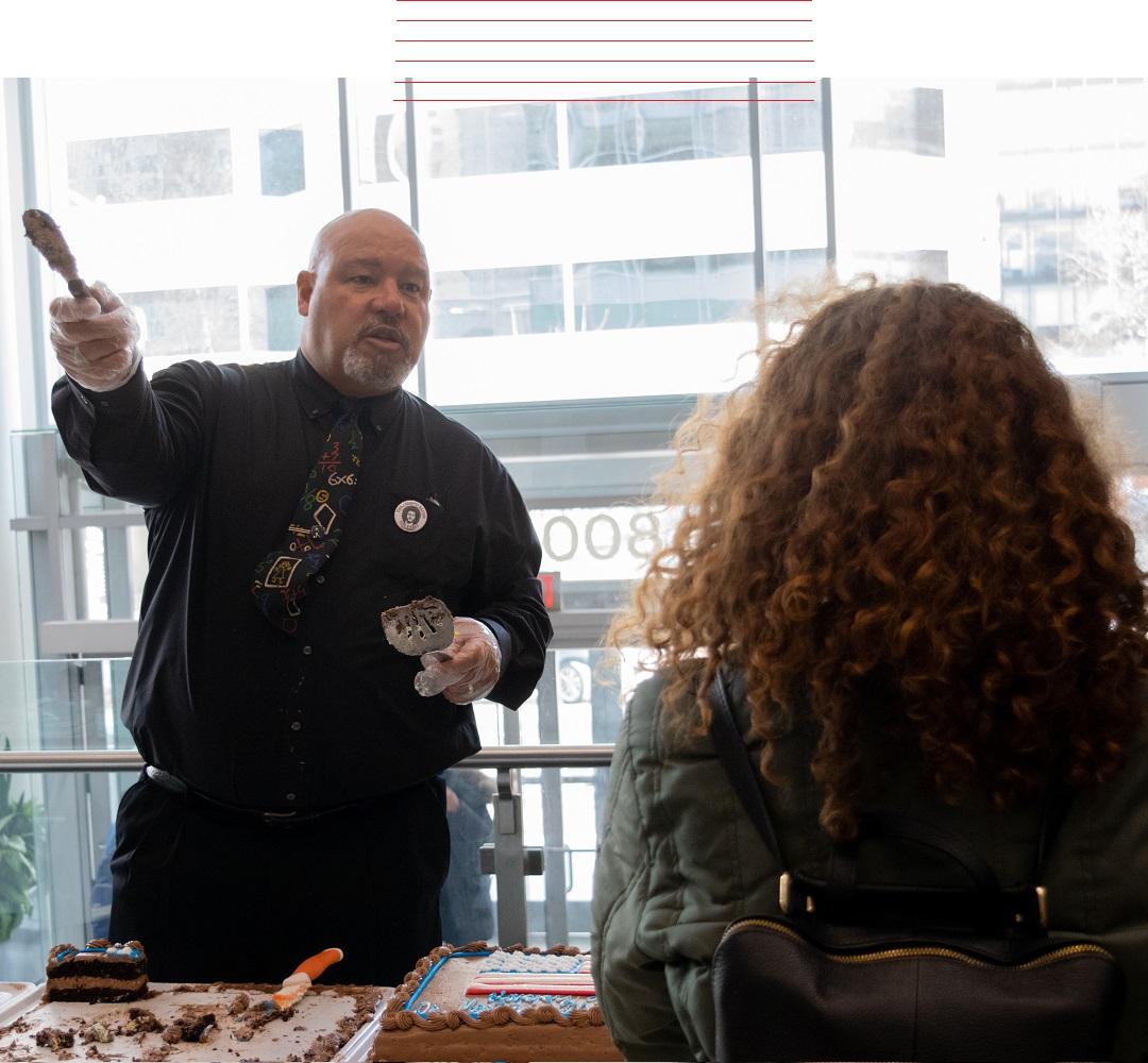 Mr. Tapscott at a King Week event