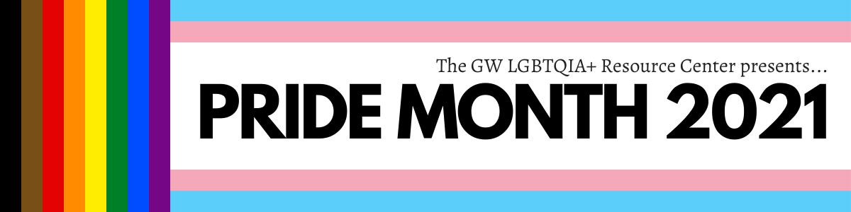 Pride Month 2021 banner