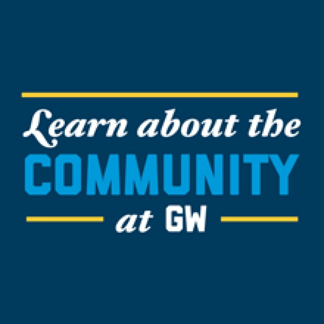 Learn About the Community at GW